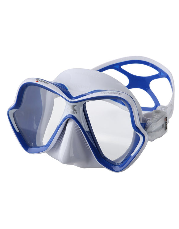 Mares X-Vision Ultra Liquid Skin Mask - White/Blue
