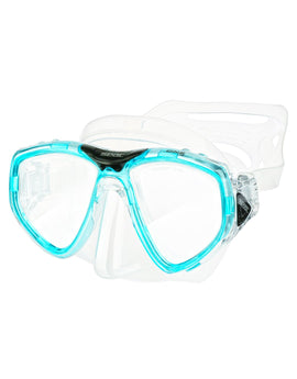 Seac Sub One Mask - Clear/Blue