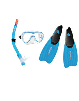 Seac Sub Tris Easy MD Set - Blue