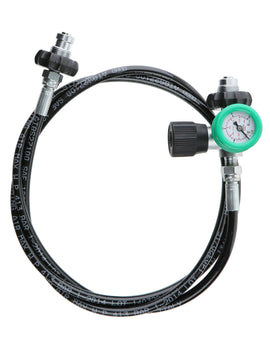DIR Zone 2m Decanting Whip with Gauge