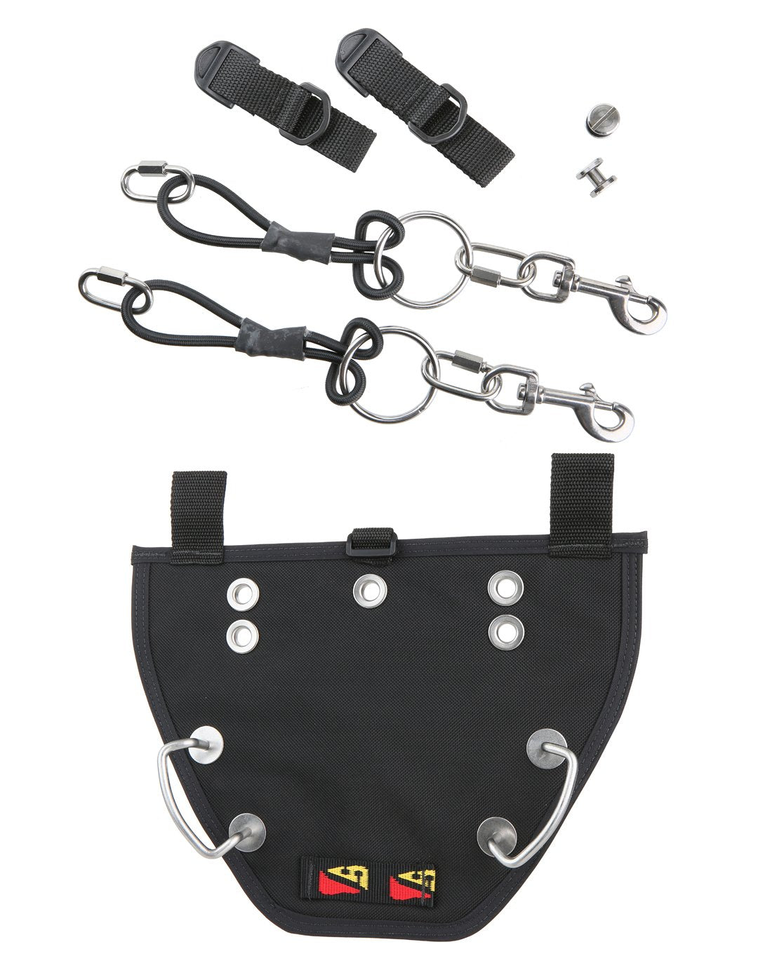 Image of Dive Rite Buttplate and Bungees