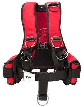 Finn Sub Fly Comfort Harness - Red