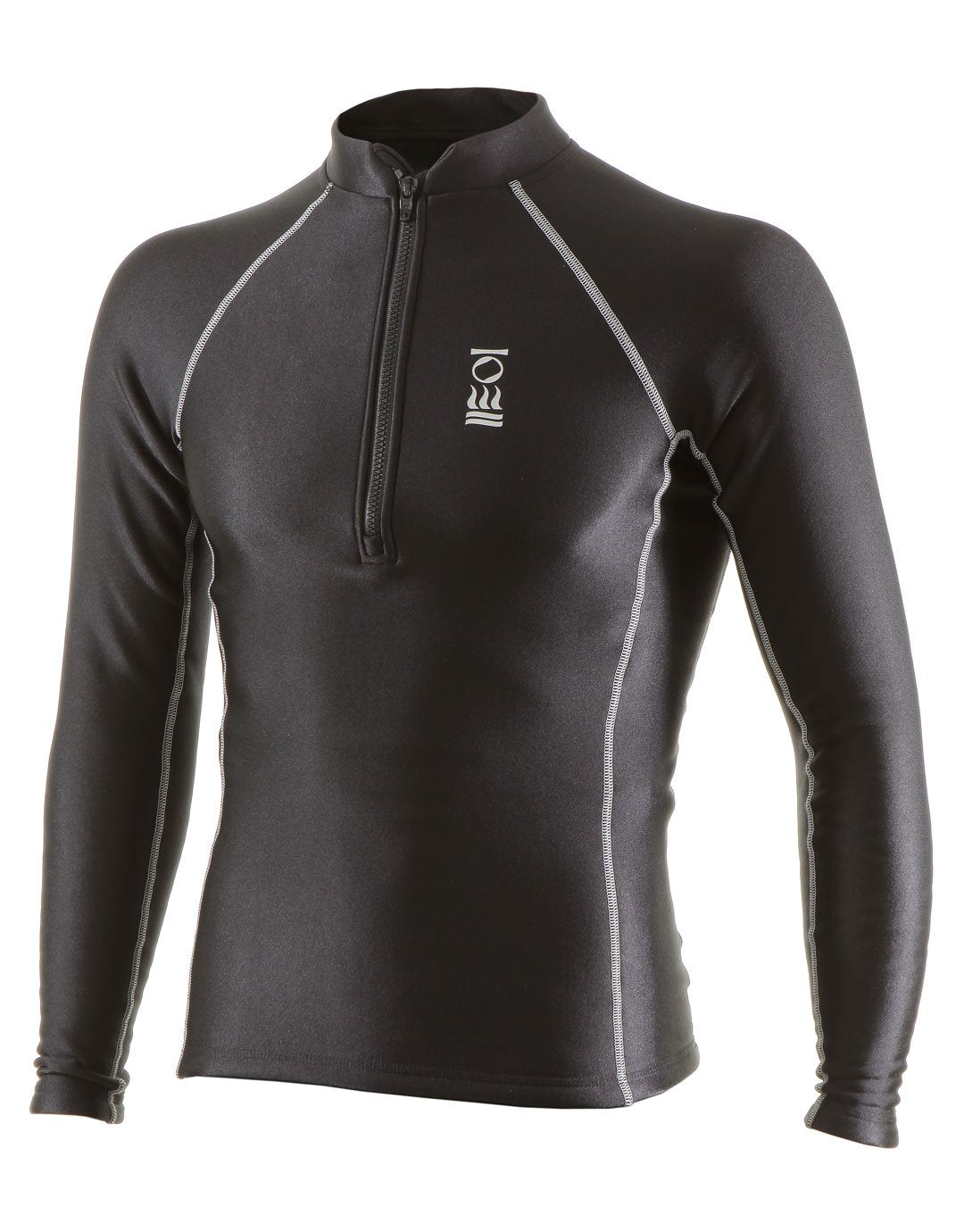 Image of Fourth Element Mens Thermocline Zipped Long Sleeve Top
