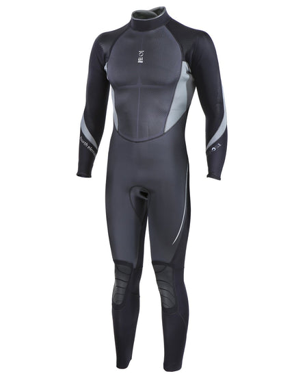 Fourth Element Mens Xenos 3mm Wetsuit - Black and Grey