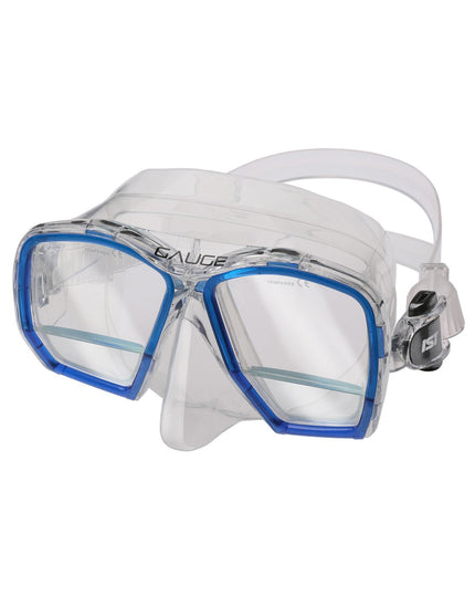 IST Gauge Mask - Clear Blue
