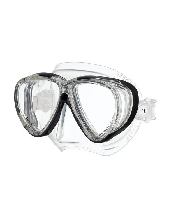 TUSA Freedom Quad Mask - Black
