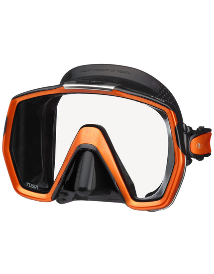 TUSA Freedom HD Mask - Black/Energy Orange