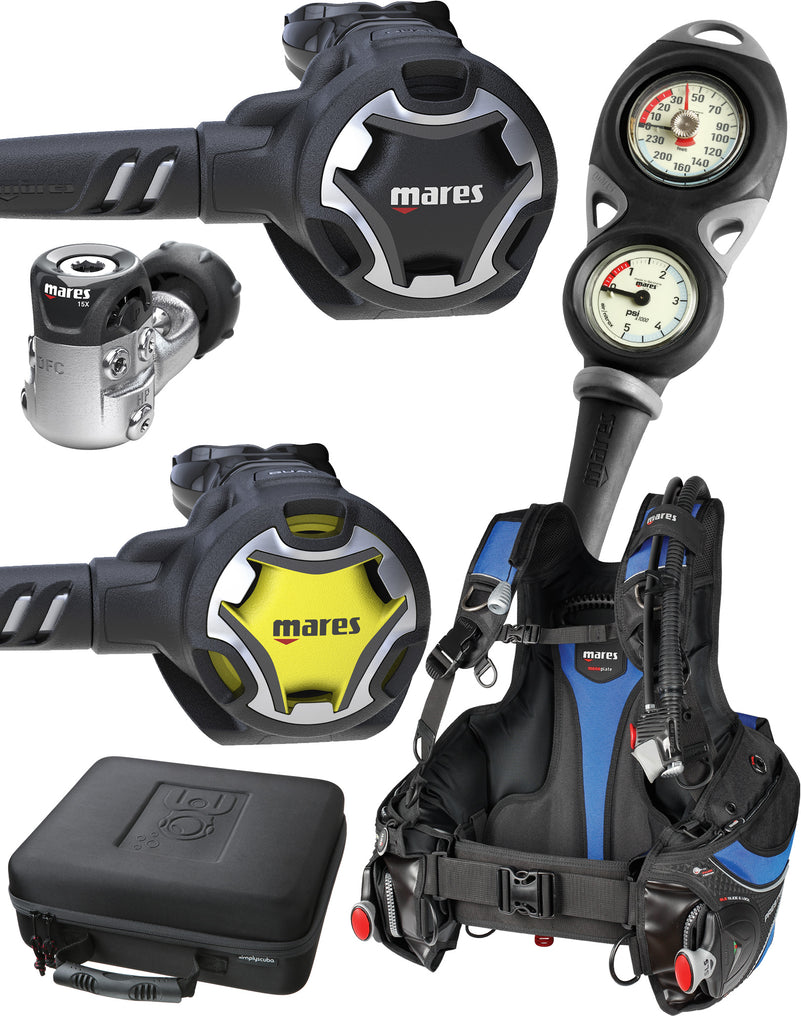 Simply Scuba Mares Open Water Bronze Package