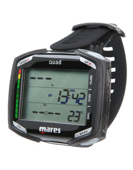 Mares Quad Dive Computer - Black