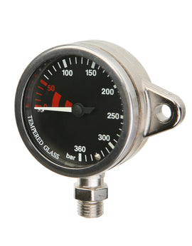 Miflex Black Tech Snap Pressure Gauge