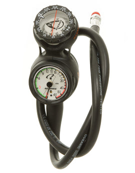 Oceanic Swivel Navcon Triple Gauge - Black