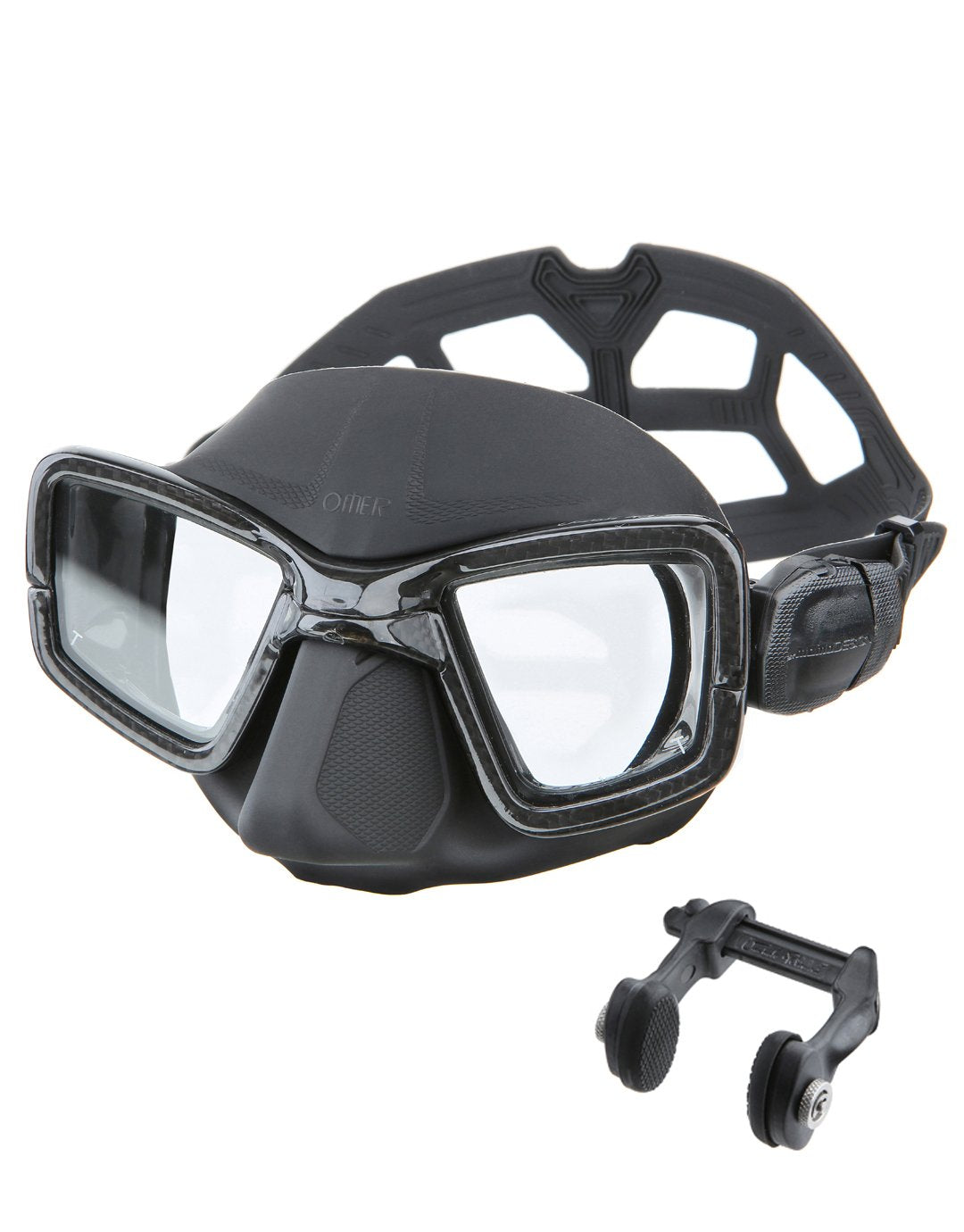 UP M1C Carbon Mask and Nose Clip