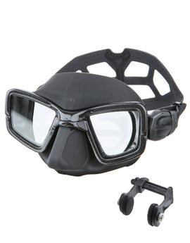 Omer UP M1C Carbon Mask and Nose Clip