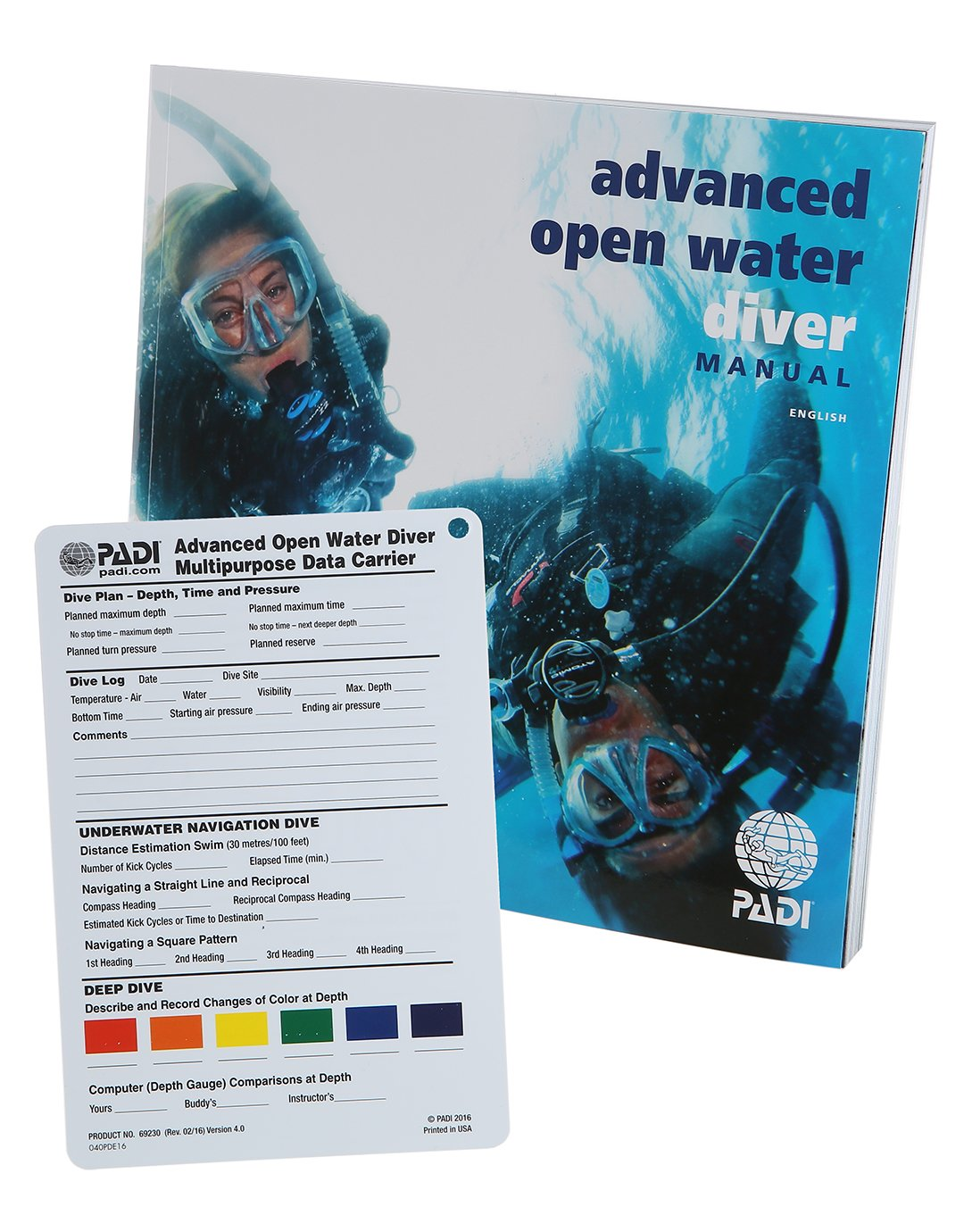 Image of PADI Advanced Open Water Manual