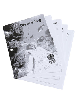 PADI Adventure Log Refill Pages