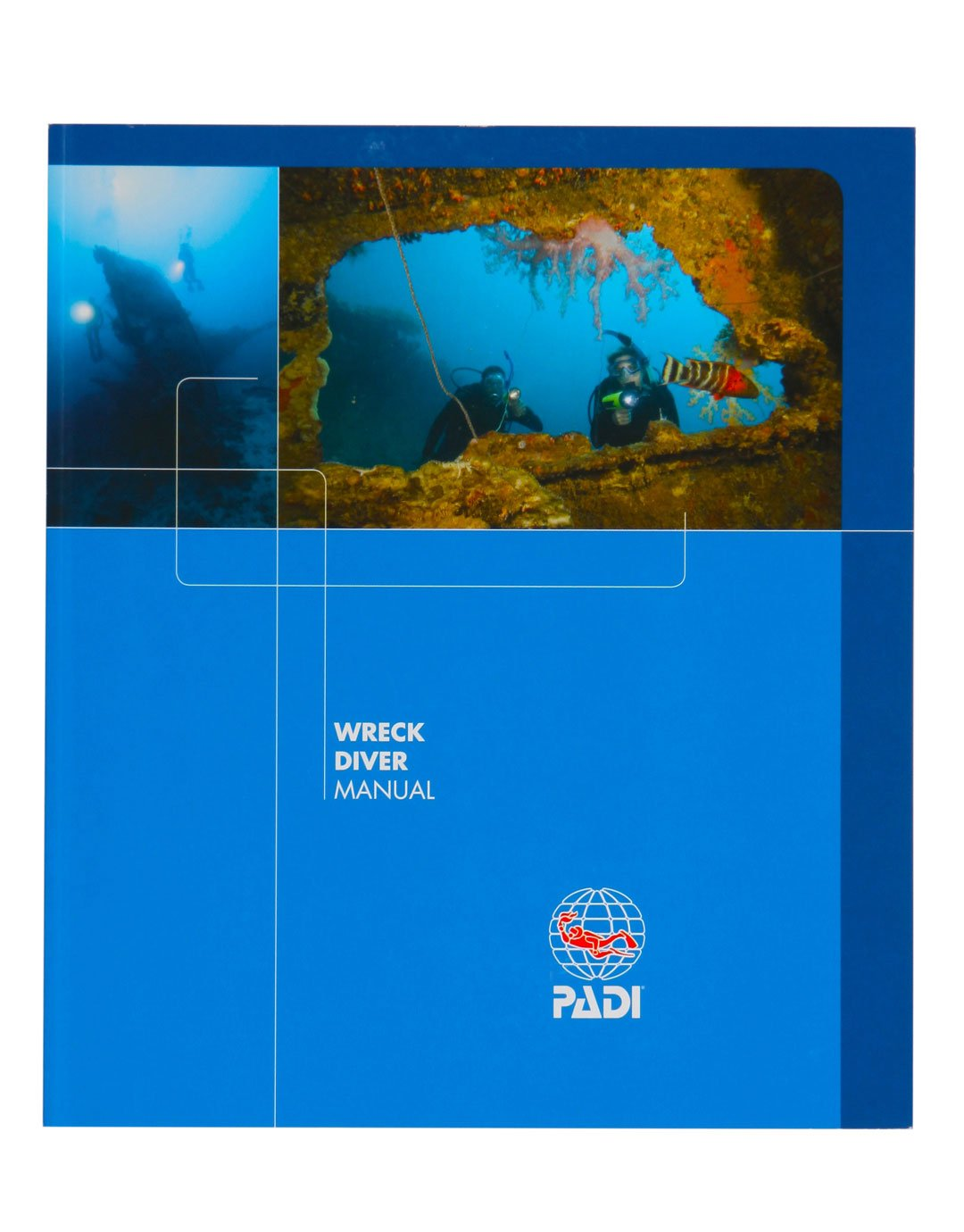 Image of PADI Wreck Diver Speciality Manual