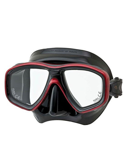 TUSA Geminus Mask - Black / Red