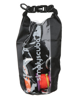 Simply Scuba 2l Black Tech Dry Bag