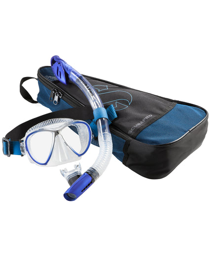 Scubapro Synergy Twin Combo Set - Blue / Silver
