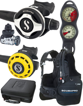 Simply Scuba Scubapro Open Water Gold Package