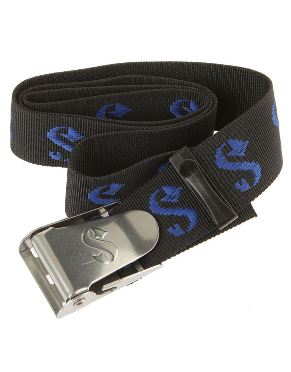 Scubapro Weight Belt with Stainless Steel Buckle - Black