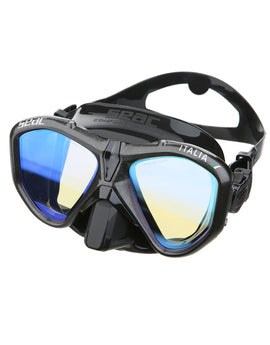 Seac Sub Italia Mirror Mask - Black