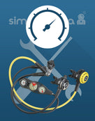 Simply Scuba Regulator Assembly and Testing