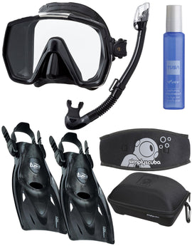 Simply Scuba Simply Scuba Tusa Freedom Travel Snorkelling Set