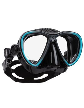 Scubapro Synergy Twin TruFit Mask - Black/Turquoise
