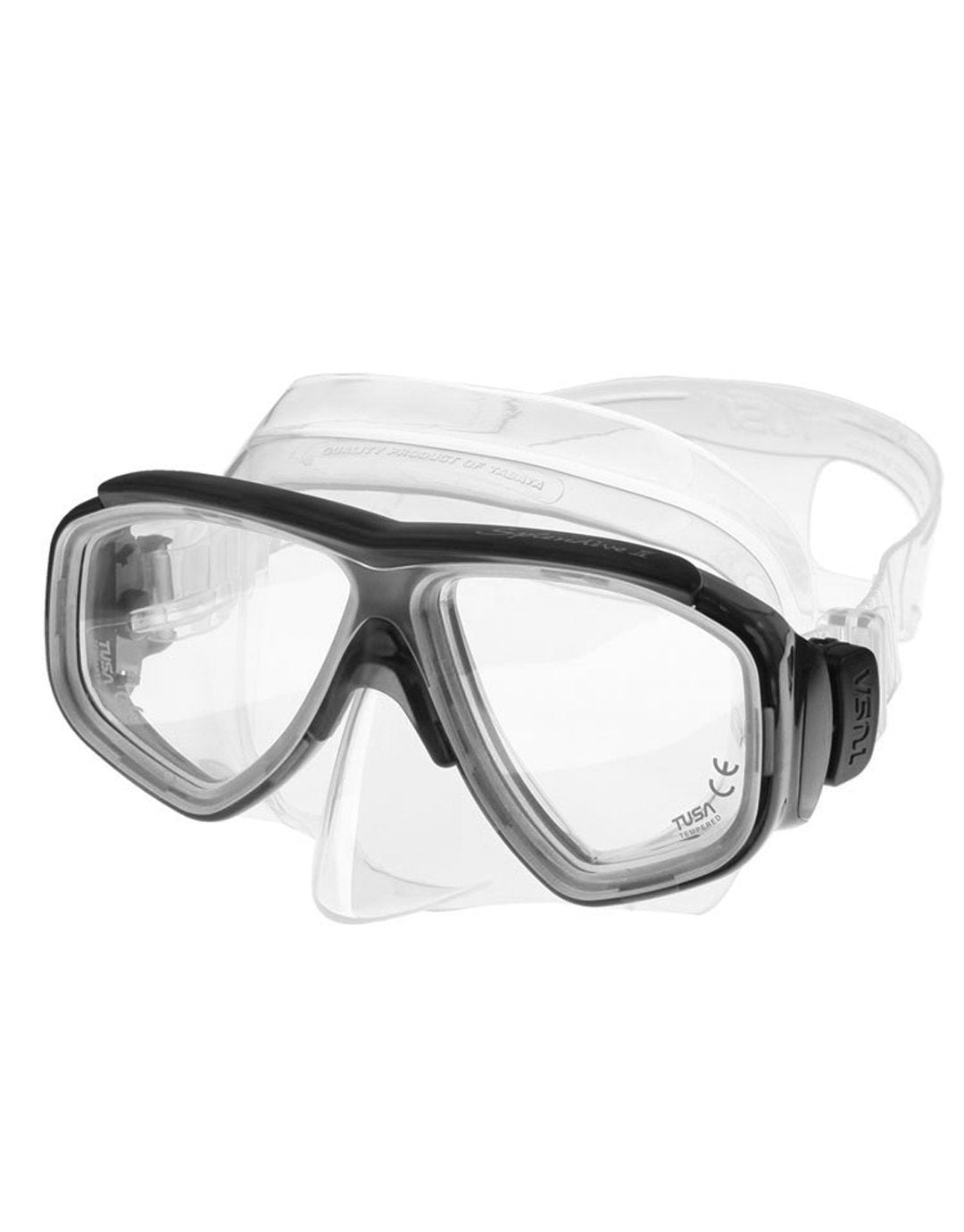 Image of TUSA Splendive II Mask - Flo Yellow