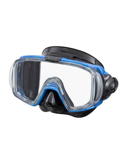 TUSA Visio Tri-ex Mask - Fishtail Blue
