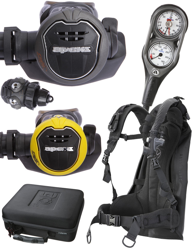 Simply Scuba Under 4kg Travel Package