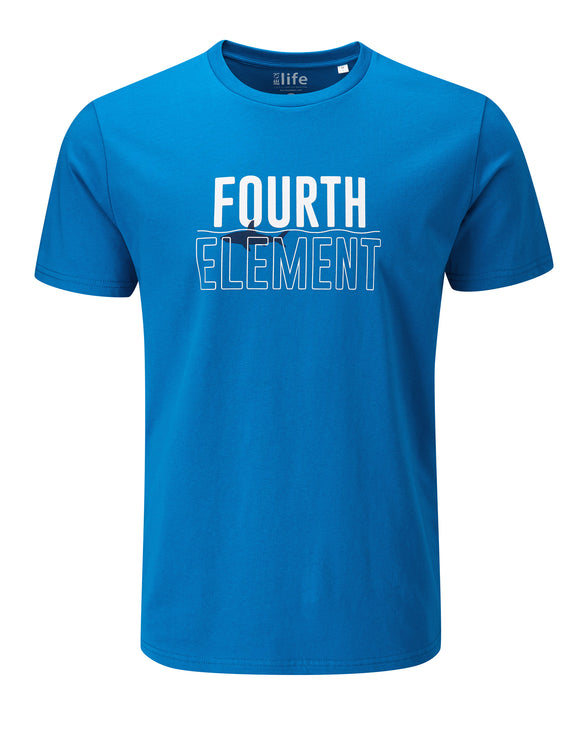 Fourth Element Shark Infested Water Mens Tee