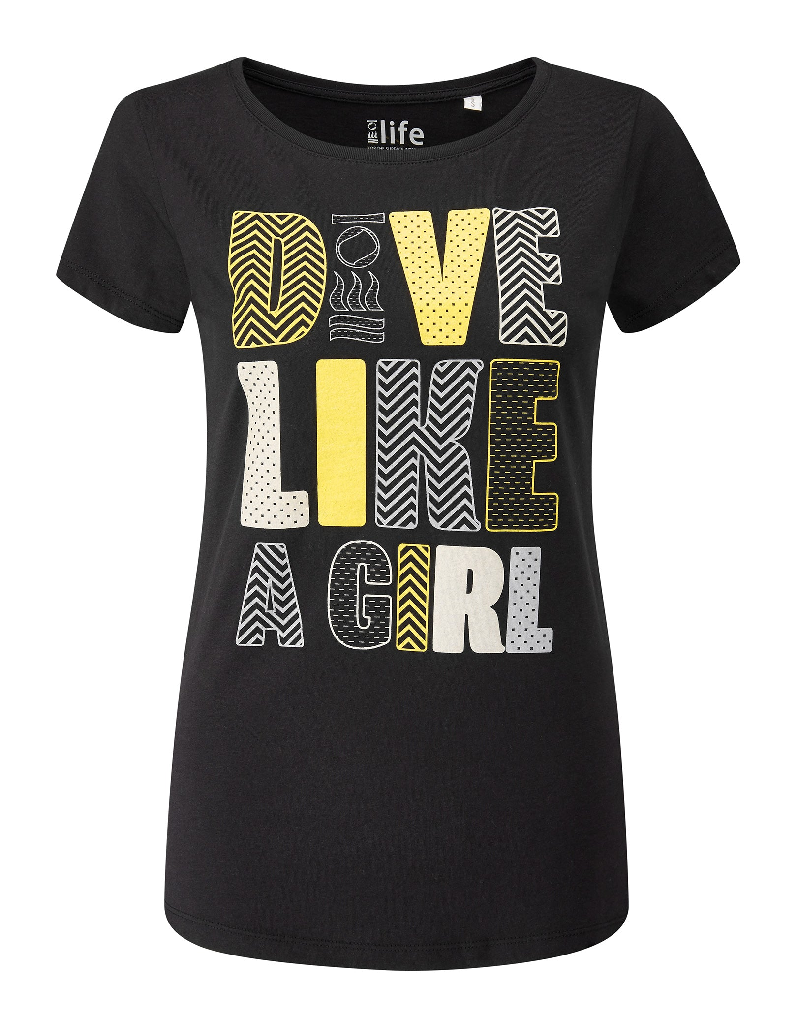 Image of Fourth Element Dive Like a Girl Tee