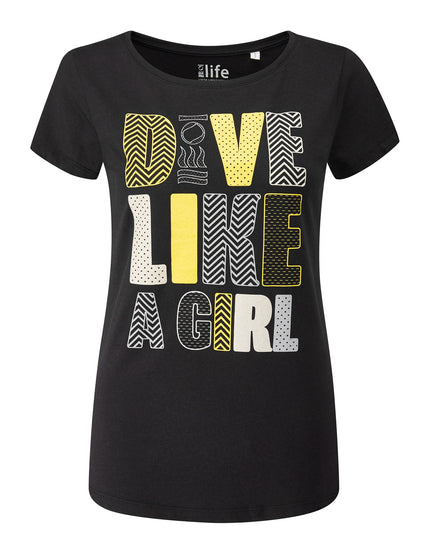 Fourth Element Dive Like a Girl Tee