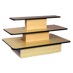 Value Three Tier Rectangular Table