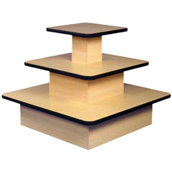 Value Three Tier Square Table