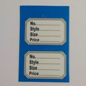Stock Control Tickets - Panel