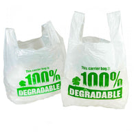 Carrier Bags - Biodegradable Vest Carrier