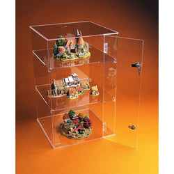 59cm display case: lockable-counter