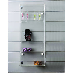 59cm adjustable display case: lockable-wall