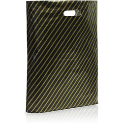 Carrier Bags - Black and Gold