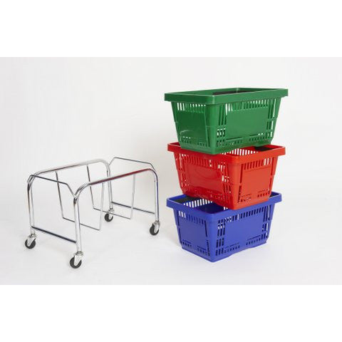 Shopping Basket Stacker