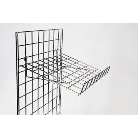 Grid Wall - Slanting Shelf