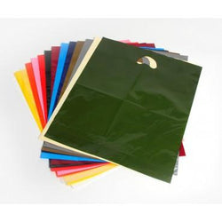 Carrier Bags Quality Varigauge - 13 colours - 3 sizes