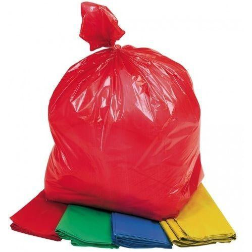 Coloured Sacks - 4 Colours