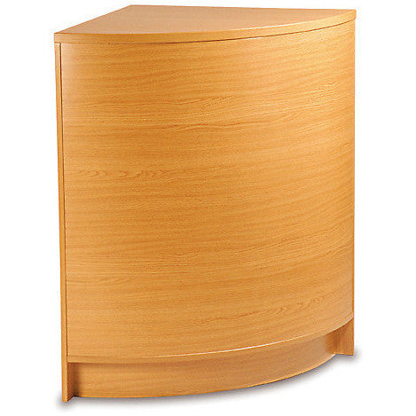 Curved Closed Corner Unit