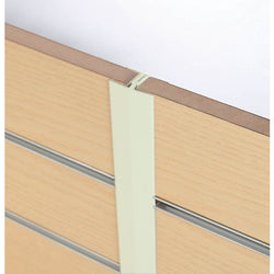 Slatwall Panels - Finishing Trim - H Section