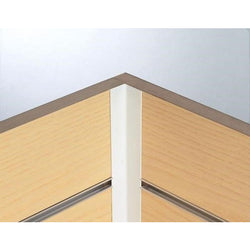 Slatwall Panels - Finishing Trim - Flexible Internal Corners