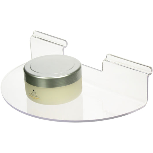 Semi-Circular Slatwall Shelf - 4 Sizes